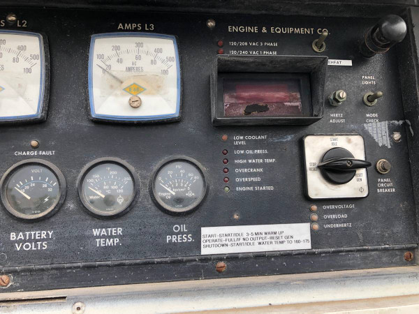 Used 1200 Amp Generator 1989 Ford F-450 Super Duty Diesel Truck