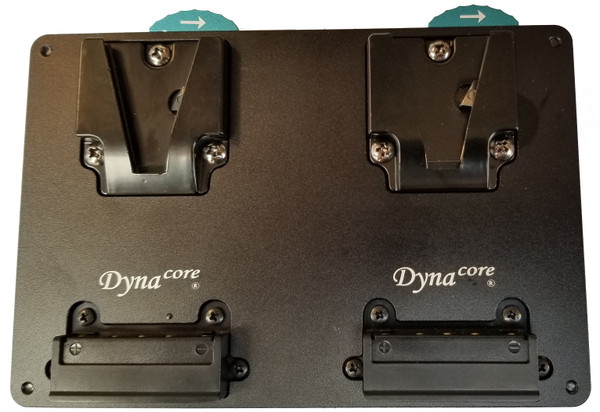 NEW! Dynacore Tiny Hot Swap Plate for V-Mount Pocket-Sized Batteries
