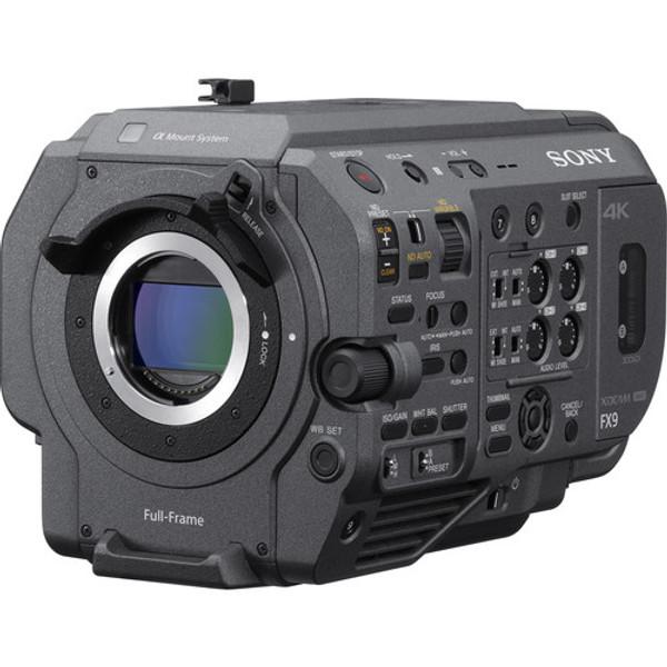 Sony PXW-FX9V: XDCAM 6K Full-Frame Camera System with Fast Hybrid AF, Dual Base ISO (Body Only)