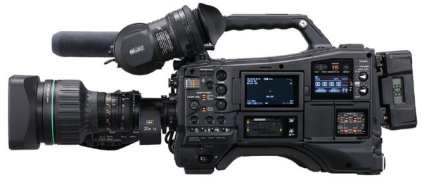 Panasonic AJ-CX4000 4K/Ultra High Definition Camcorder with HDR, 12G-SDI, GigE (Body Only)