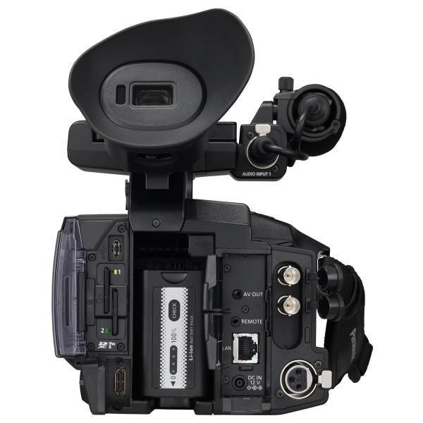 "BSTOCK Panasonic AG-CX350 High-End 1.0"" MOS 4K/HDR/10-bit Streaming Camcorder with 20x lens & NDI"