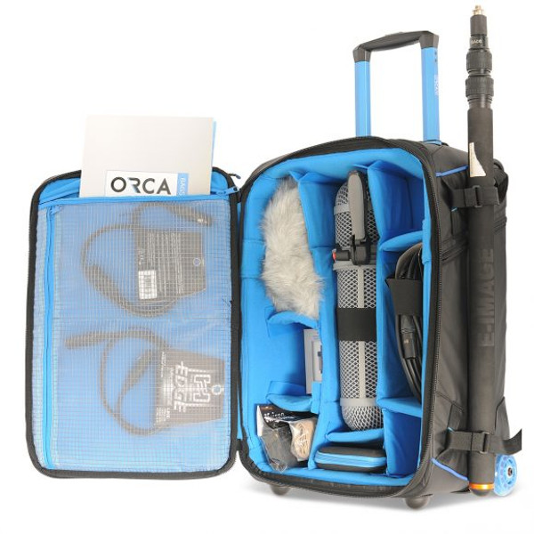 Orca OR-16 Rolling Camera Bag with Integrated Backpack System