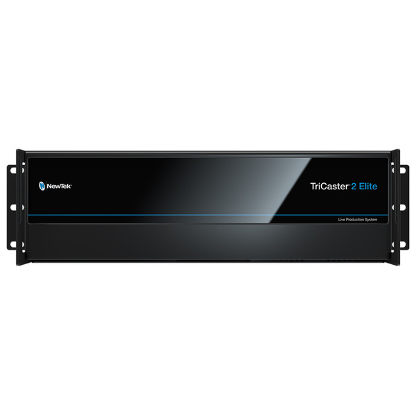 TriCaster 2 Elite 40-Input 4K/60 Multi-Definition Production Switcher / Graphics / Streaming System