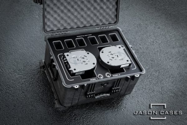 Jason Cases PNUE150BK Panasonic UE150 Robos Case with Black Overlay