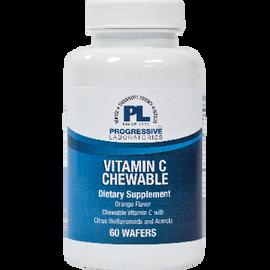 Progressive Labs - Vitamin C Chewable Orange 500 mg 60 Tablets