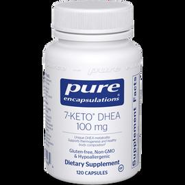 Pure Encapsulations - 7-Keto DHEA 100 mg 120 Veggie Capsules