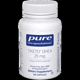 Pure Encapsulations - 7-Keto DHEA 25 mg 120 Veggie Capsules