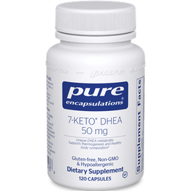 Pure Encapsulations - 7-Keto DHEA 50 mg 120 Veggie Capsules