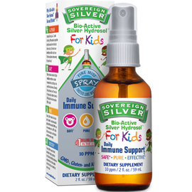 Sovereign Silver - Silver Hydrosol For Kids Spray 2 fl oz