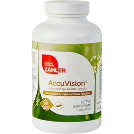 Advanced Nutrition by Zahler - AccuVision 120 Capsules