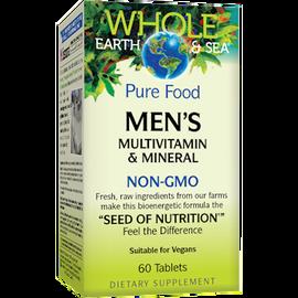 Whole Earth and Sea - Natural Factors - Men's Multi Non-GMO 60 Tablets