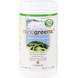BioPharma Scientific - NanoGreens10 Green Apple 12.7 oz