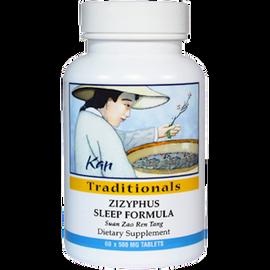 Kan Herbs - Traditionals - Zizyphus Sleep Formula 60 Tablets