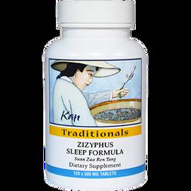 Kan Herbs - Traditionals - Zizyphus Sleep Formula 120 Tablets