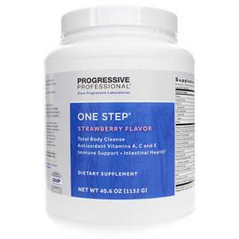 Progressive Labs - One Step Strawberry Flavor 40.6 oz (1152 Grams)