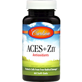 Carlson Labs - ACES + Zn 60 Softgels