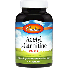 Carlson Labs - Acetyl L-Carnitine 500 mg 120 Capsules