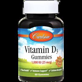 Carlson Labs - Adult Vitamin D3 Gummies 60 Gummies
