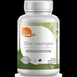 Advanced Nutrition by Zahler - Zinc + Elderberry Lozenges 90 Lozenges