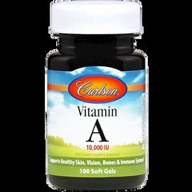 Carlson Labs - Vitamin A 10000 IU 100 Softgels
