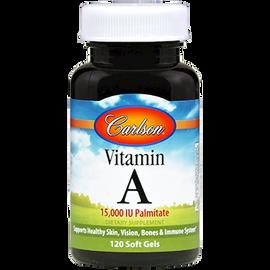 Carlson Labs - Vitamin A Palmitate 15000 IU 120 Softgels