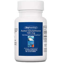 Allergy Research Group - Acetyl-Glutathione 100 mg 60 Tablets