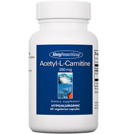 Allergy Research Group - Acetyl-L-Carnitine 250 mg 60 Veggie Capsules