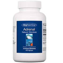 Allergy Research Group - Adrenal 100 mg 150 Veggie Capsules