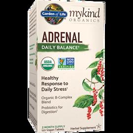 Garden of Life - Adrenal Daily Balance Organic 120 vTablets
