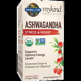 Garden of Life - Ashwaganda Stress & Mood Organic 60 Tablets