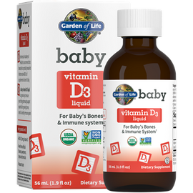 Garden of Life - Baby Vitamin D3 1.9 fl oz