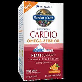 Garden of Life - CardiO-3 Orange Flavor 60 Softgels
