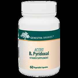 Genestra - Active B6 Pyridoxal 60 Veggie Capsules