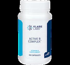 Klaire Labs - Active B Complex 60 Capsules