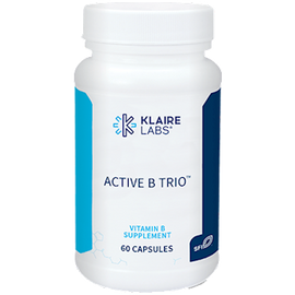 Klaire Labs - Active B Trio 60 Capsules