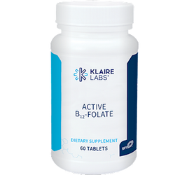 Klaire Labs - Active B12-Folate 60 Tablets