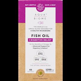 Aqua Biome - Fish Oil Digestive Relief 60 Softgels