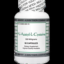 Montiff - N-Acetyl-L-Cysteine 500 mg 90 Capsules