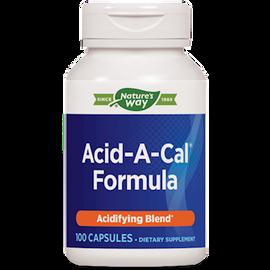 Nature's Way - Acid-A-Cal 100 Capsules