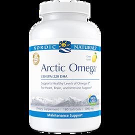 Nordic Naturals - Arctic Omega Lemon 1000 mg 180 Softgels