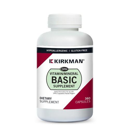 Kirkman Labs - DRN Vitamin/Mineral Basic Supplement 360 Veggie Capsules