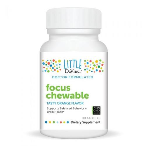 Little Davinci - Focus Chewable 90 Tablets