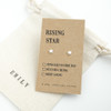 Rising Star Silver Earrings