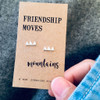 Friendship Moves Mountains Silver Earrings Lifestyle