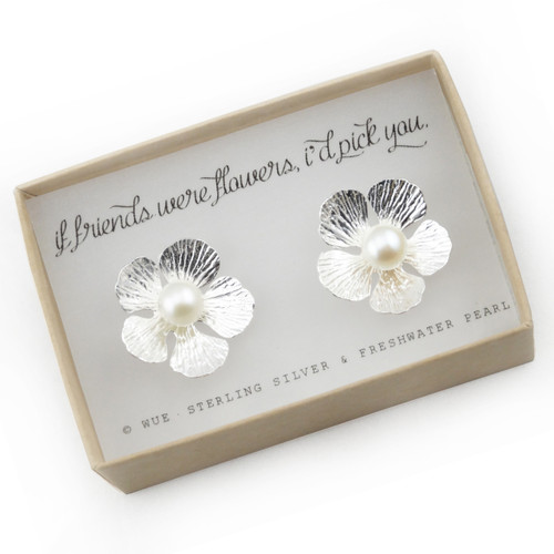 If Friends Were Flowers Earrings