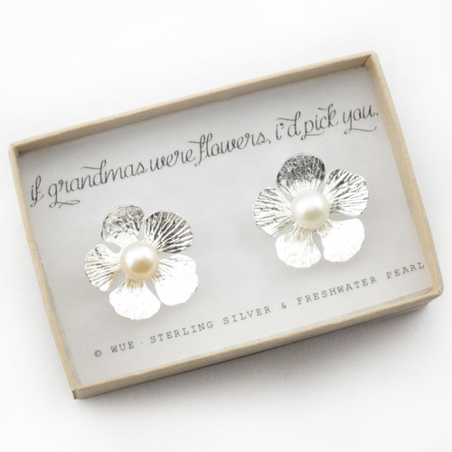 If Grandmas Were Flowers Earrings