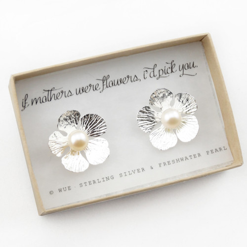 If Mothers Were Flowers Earrings