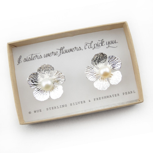 If Sisters Were Flowers Earrings