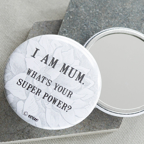 Super Mum Pocket Mirror