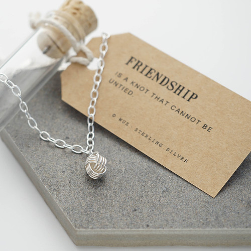Personalised Friendship Knot Bracelet